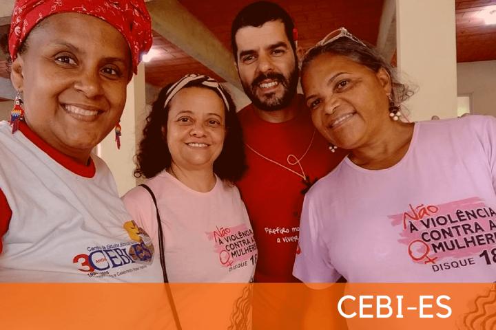 CEBI-ES: Encontro de formação estuda as mulheres na bíblia