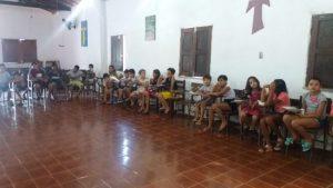 50 crianças participaram.