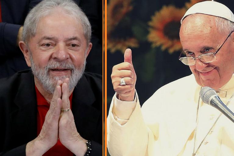 Notícias falsas: Afinal, Papa Francisco mandou ou não o terço a Lula?