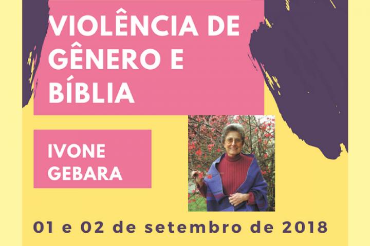 CEBI-ES: Participe do curso de formação com Ivone Gebara