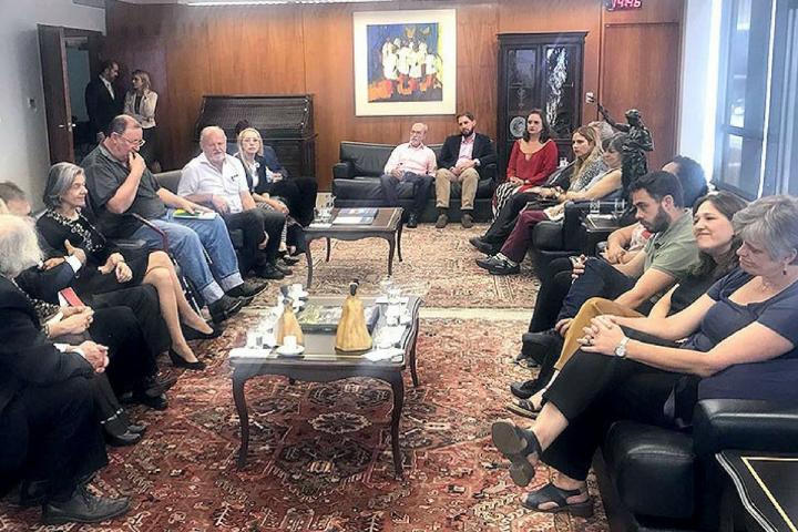 CONIC participa de audiência com a ministra Cármen Lúcia