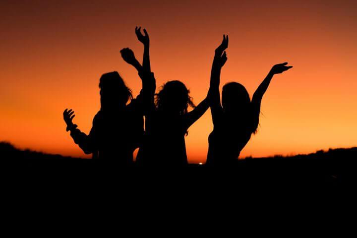 As bem-aventuranças: Eu sou feliz é na comunidade!