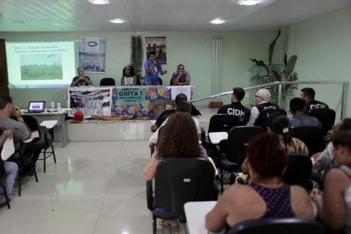Povos Parakanã e Arara denunciam violações à Comissão Interamericana de Direitos Humanos, em Altamira (PA)