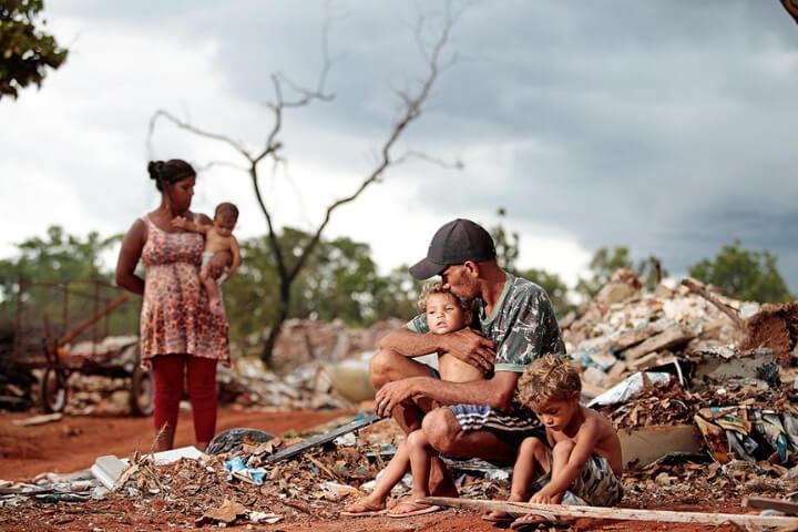 A dor dos pobres não sai nos jornais