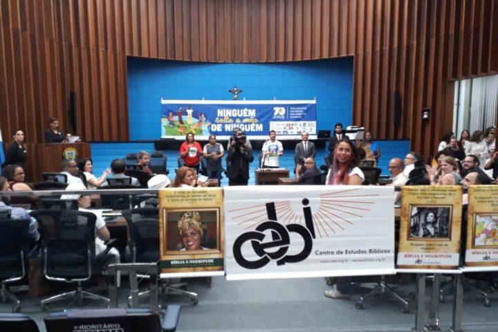 Cultura da paz: CEBI participa de sessão comemorativa dos 70 anos da Declaração dos Direitos Humanos