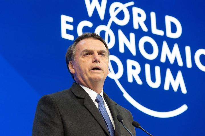 """Em Davos, Bolsonaro ignora Carta da ONU e Constituição ao falar sobre """"verdadeiros direitos humanos"""""""