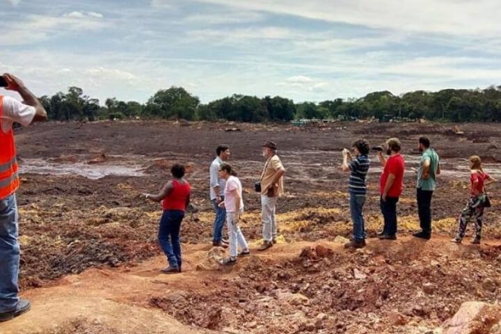 Prisão imediata dos responsáveis pelo crime da Vale e do Estado, e suspensão da mineração em Minas Gerais
