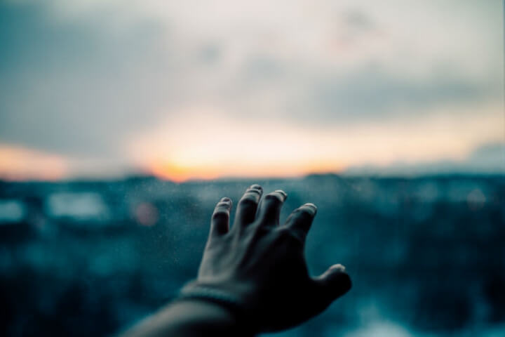 A mão de Cristo, o bom pastor