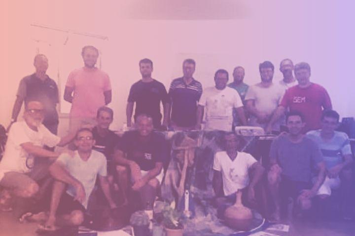 CEBI assessora I Encontro de Homens da CPT Bahia