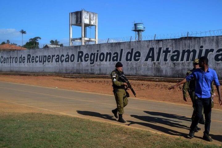 Rebelião em presídio do Pará deixa ao menos 57 mortos