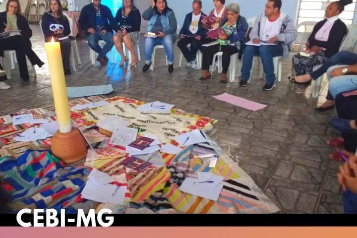 CEBI-MG Mercedes Lopes assessora estudo bíblico sobre a 1ª Carta de João