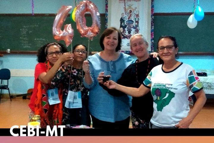 Rondonópolis/MT comemora os 40 anos do CEBI