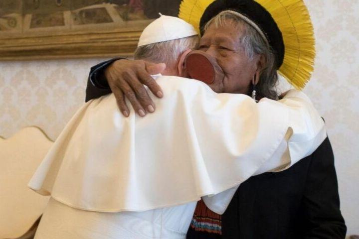 """Papa Francisco vê discursos """"similares ao de Hitler"""" e sai em defesa da Amazônia"""