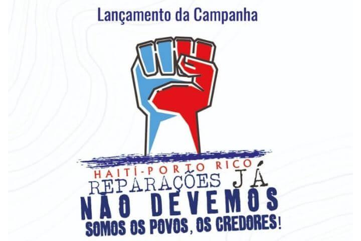 Campanha de reparações no Haiti e em Porto Rico será lançada na Câmara dos Vereadores