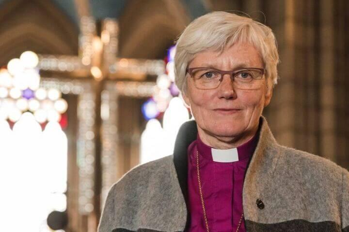 """Antje Jackelén, chefa da Igreja sueca: """"Existem imagens no Antigo Testamento que mostram Deus como uma mulher"""""""