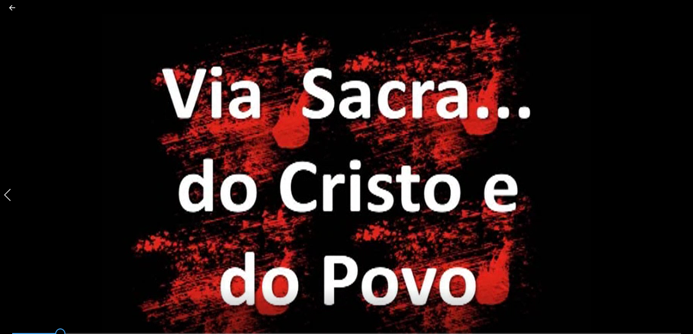 Via Crucis e o desejo de Ressurreição em Moçambique.