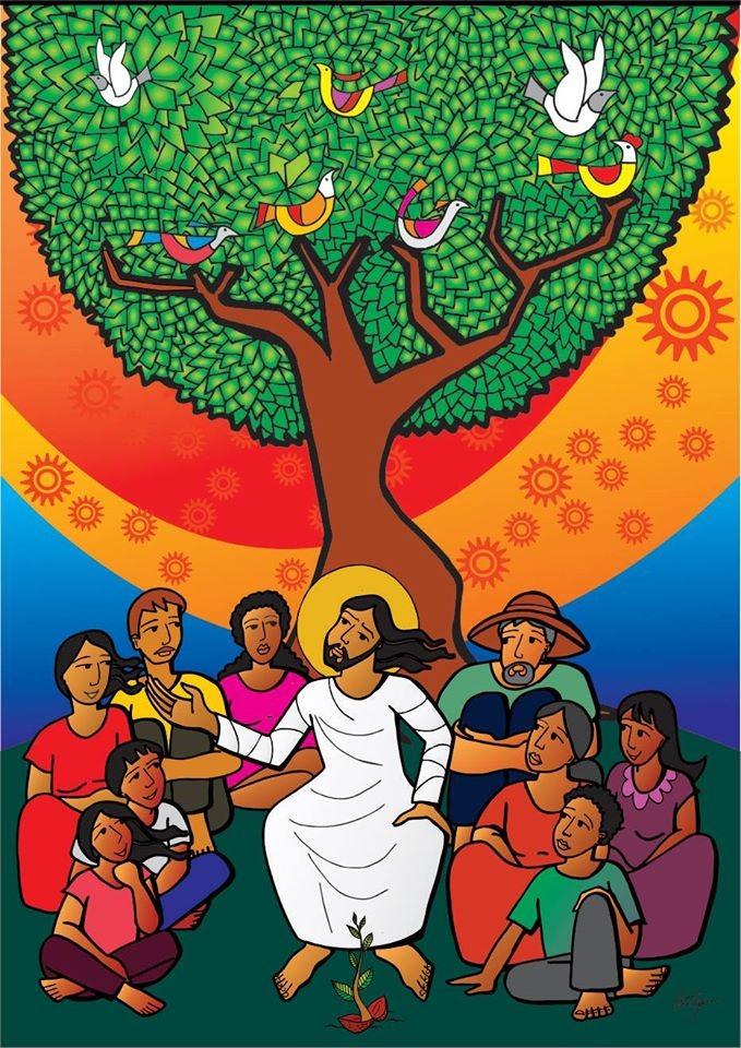 Poema sobre Jesus Companheiro em tempo de Páscoa.