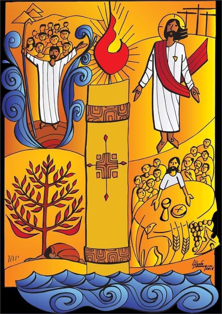 É Paixão, mas é Páscoa!