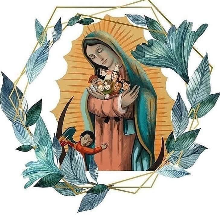Carta-oração à Mãe de Guadalupe por ocasião da Páscoa de 2020.