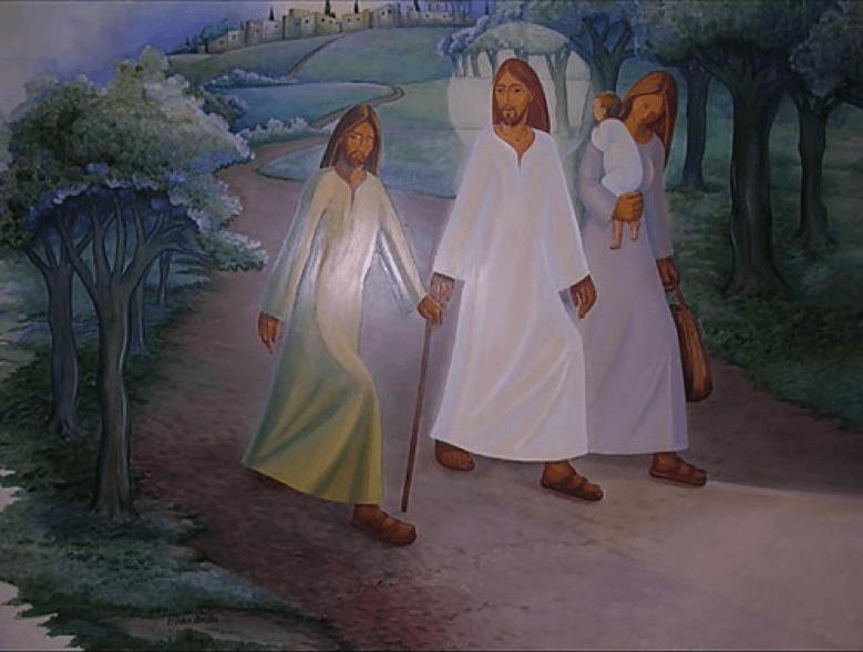 Reflexão do Evangelho: No Caminho de Emaús – Ele está no meio de nós!