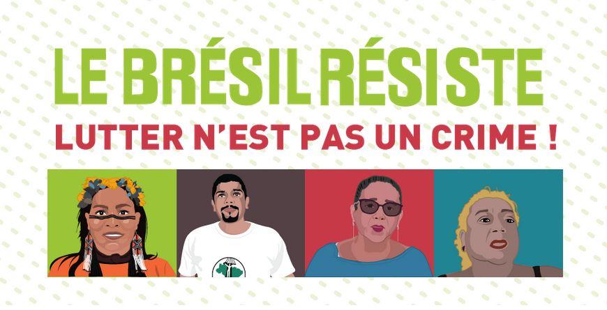 Organizações francesas lançam campanha sobre as violações dos direitos humanos no Brasil