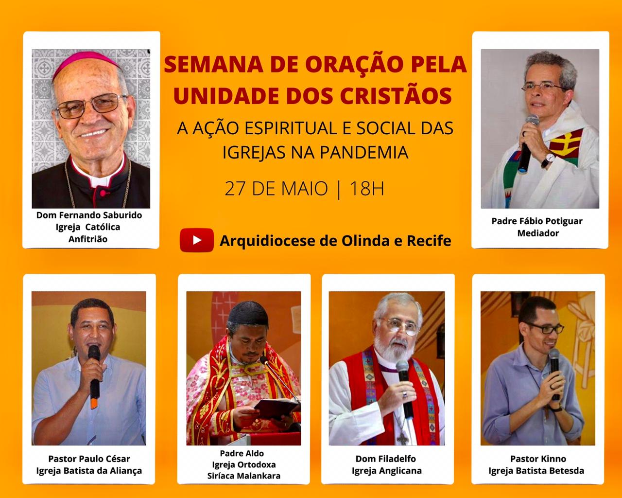 CEBI PE – A ação espiritual e social das igrejas na pandemia (LIVE)