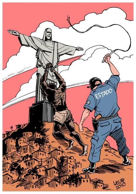 A necropolítica brasileira e sua origem na guerra colonizadora.