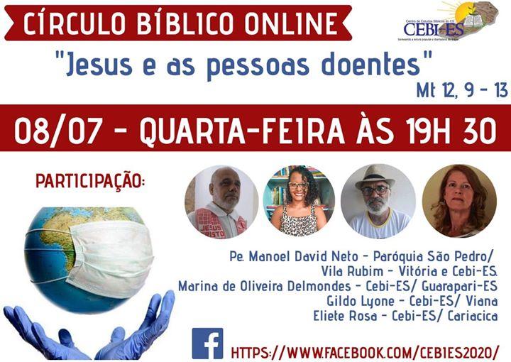 CEBI Espírito Santo- Jesus e as pessoas doentes (Live)