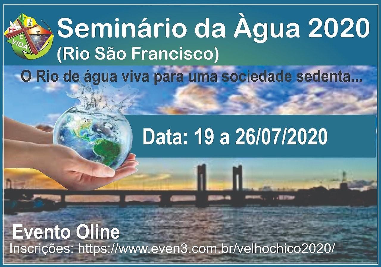 CEBI Petrolina apoia Seminário da Água 2020 (Rio São Francisco)