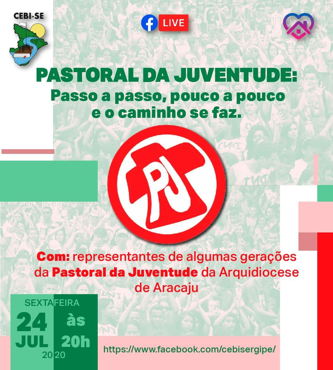 CEBI Sergipe debaterá em live a Pastoral da Juventude