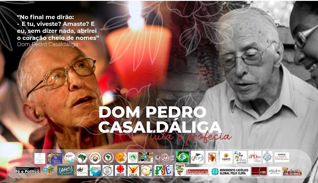 CEBI e dezenas de instituições lembram em Carta a presença e o legado de Dom Pedro Casaldáliga