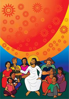 O Profeta de Nazaré – Mulheres e homens seguiam  seu caminho