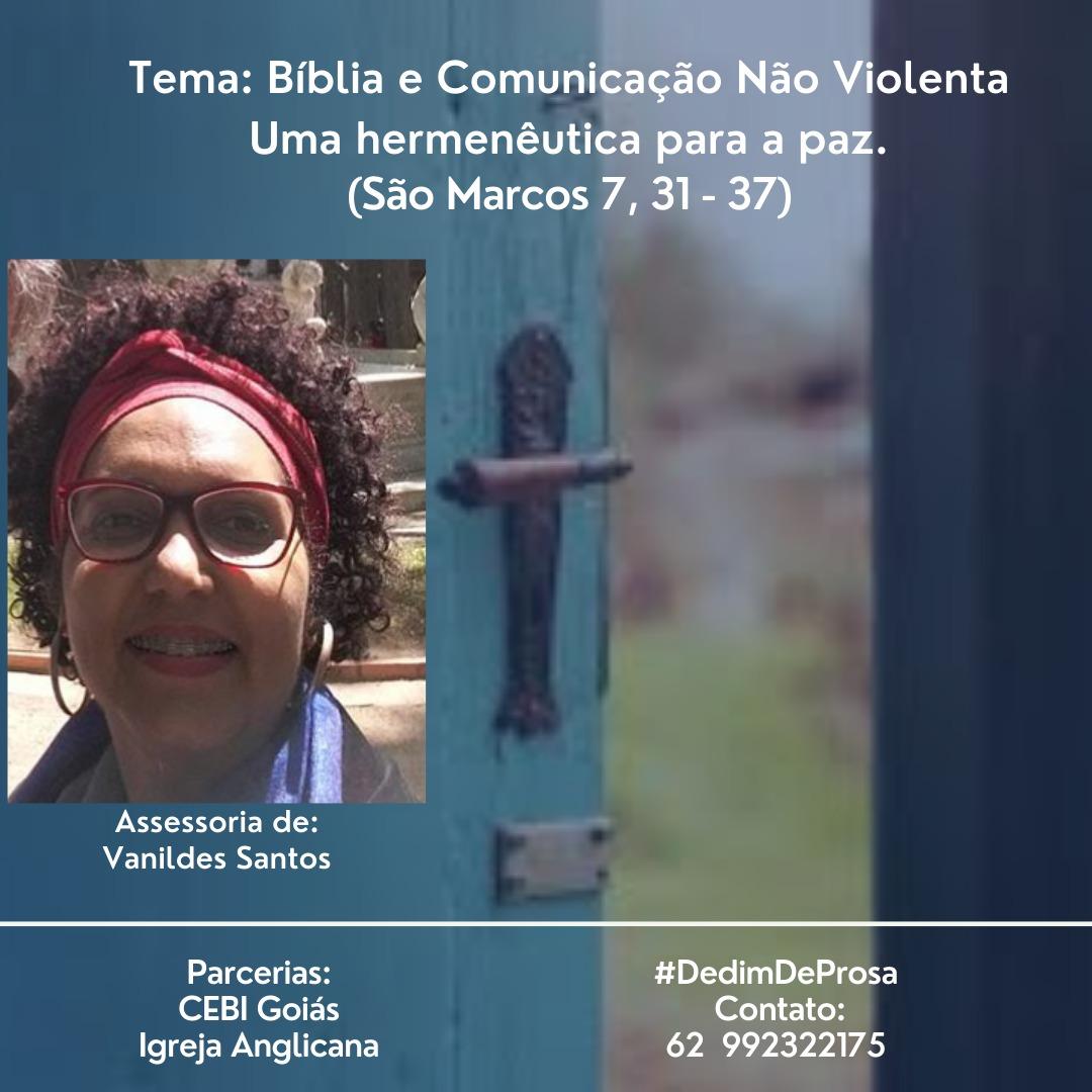 CEBI Goiás e Igreja Anglicana têm podcast sobre Bíblia e Comunicação Não Violenta
