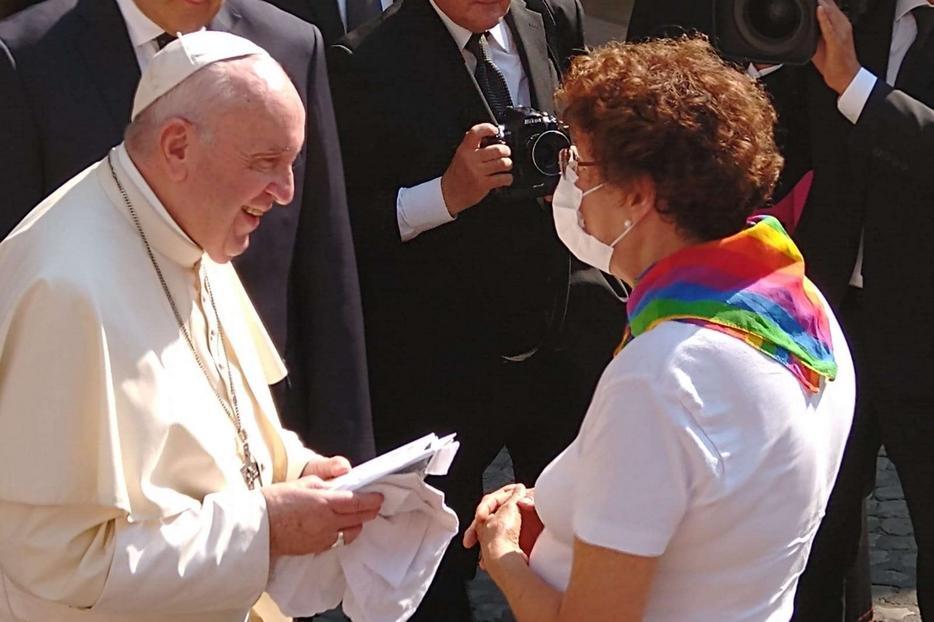 O Papa e os LGBTQIA+