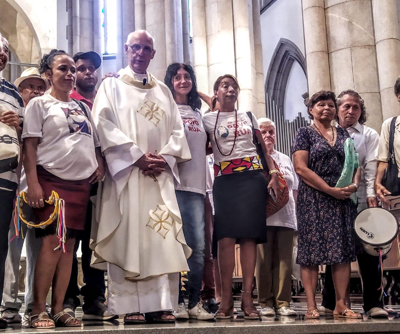 CEBI Nacional emite nota de solidariedade ao Padre Júlio Lancellotti