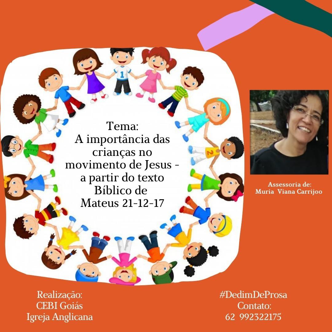 CEBI Goiás e Igreja Anglicana têm novo Podcast sobre Criança e Movimentos de Jesus