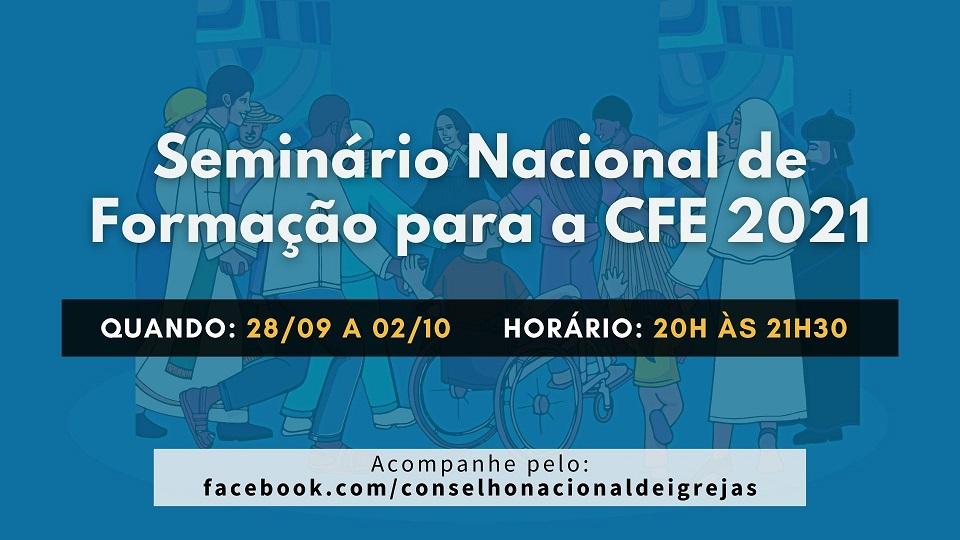 Seminário Nacional de Formação para a CFE 2021