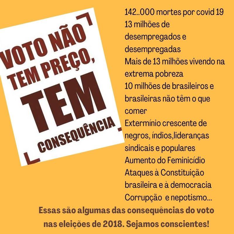 Dez mandamentos do eleitor consciente