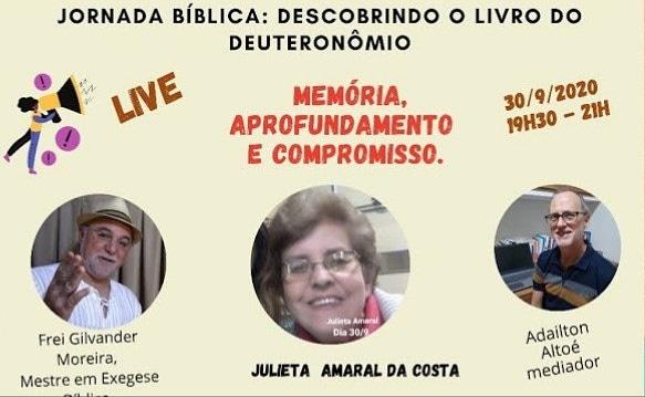 CEBI Minas Gerais- encerramento da Jornada Bíblica: Descobrindo o livro do Deuteronômio.