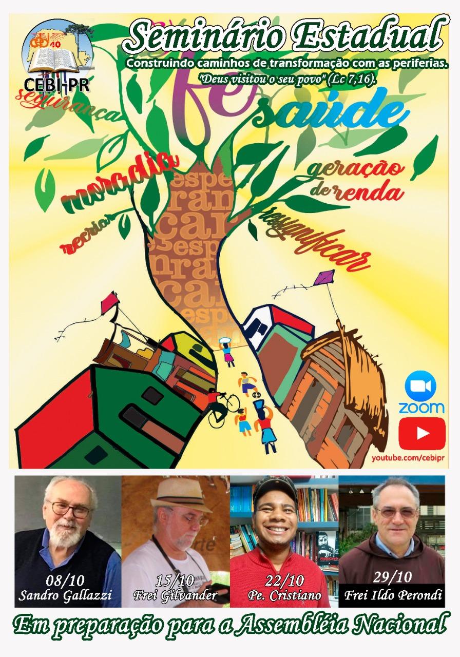 CEBI Paraná realizará seminário em preparação à assembléia nacional do CEBI