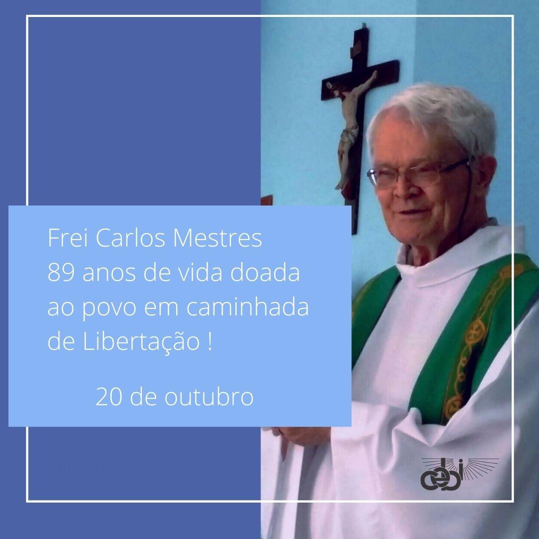 Frei Carlos Mesters, 89 anos de vida doada ao povo em caminhada de libertação
