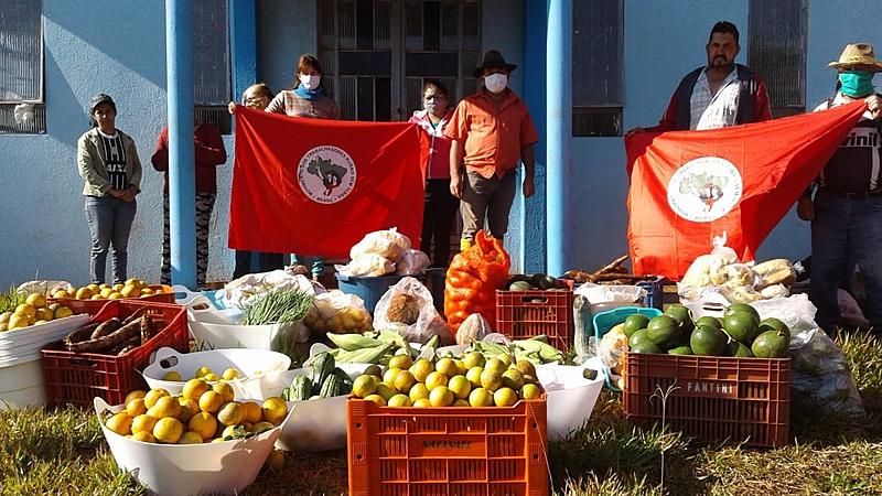 A fome em grandes plantações