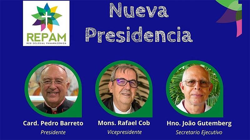 A REPAM apresenta oficialmente sua nova presidência