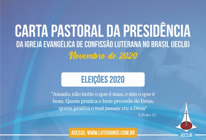 Carta Pastoral da Presidência da IECLB – Eleições 2020