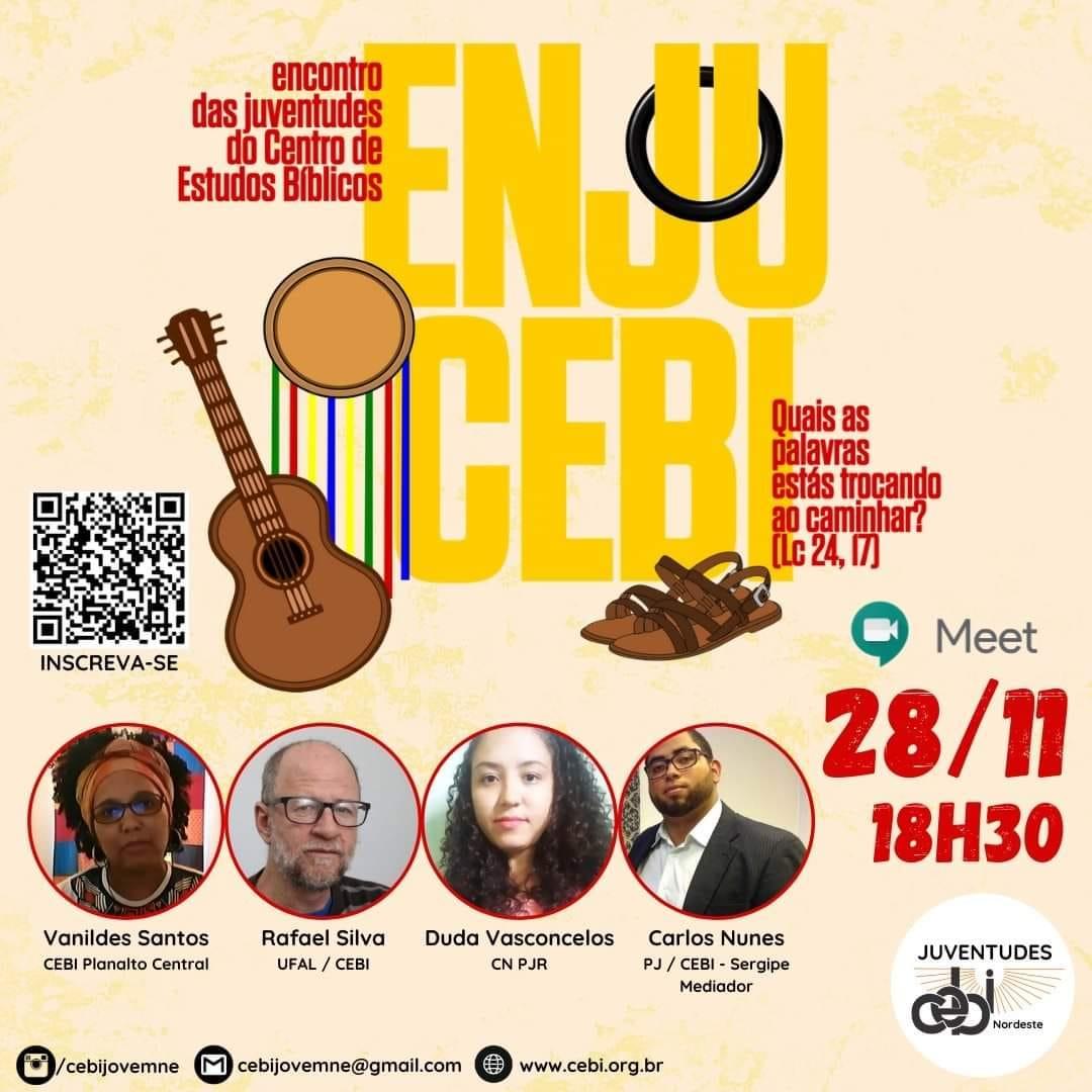 CEBI Sergipe realizará neste sábado encontro de juventudes do CEBI