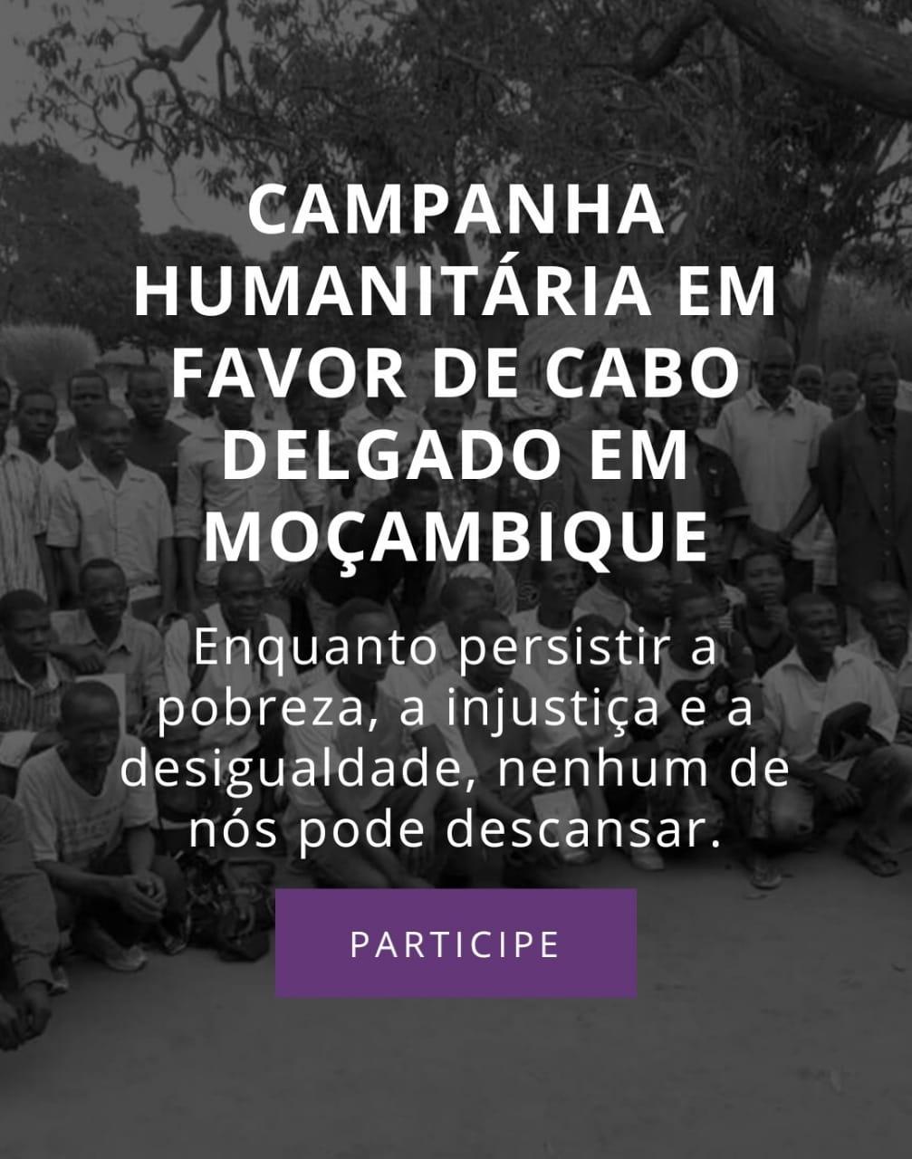 Agrava-se a situação em Cabo Delgado e Bispo brasileiro lança Campanha de Solidariedade