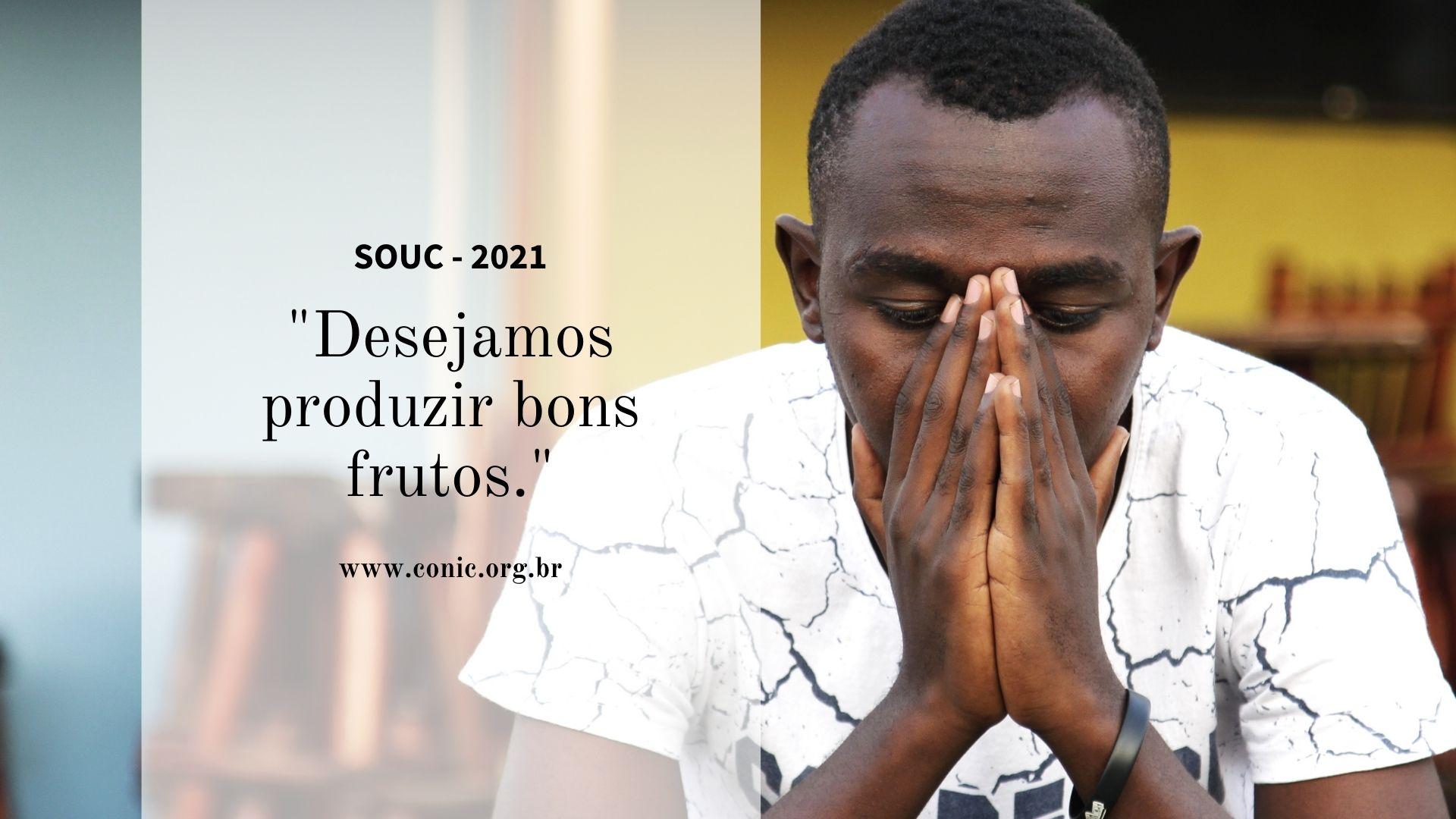 Conheça a oração oficial da SOUC 2021