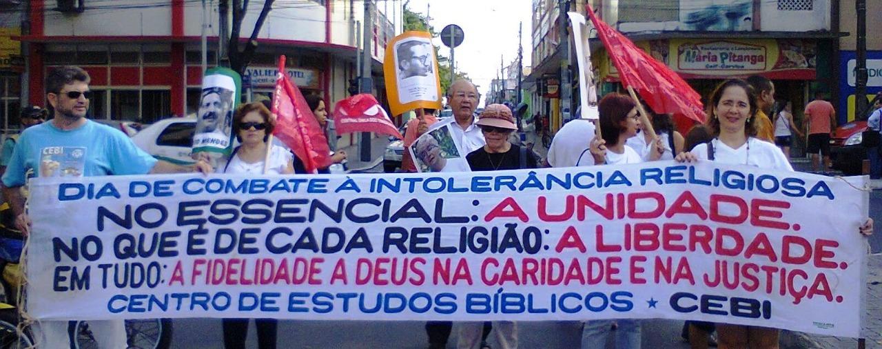CEBI Ceará e o Dia Nacional de Combate à Intolerância Religiosa