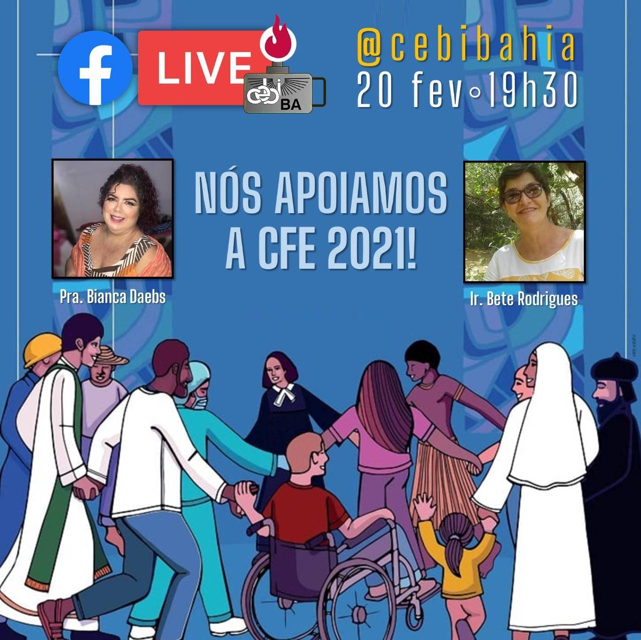 CEBI Bahia tem live sobre a CFE 2021