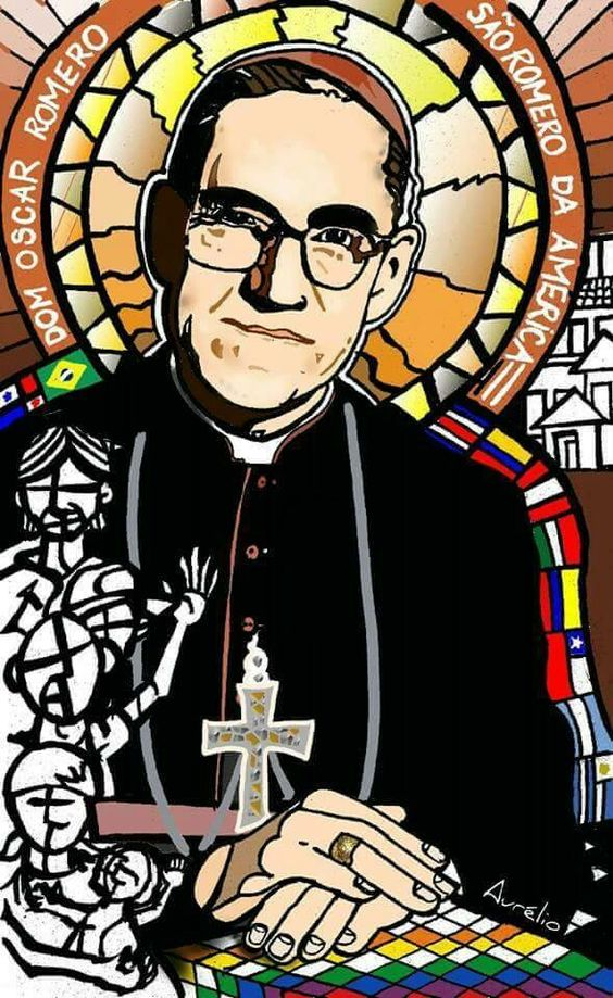 São Romero das Américas, sua última homilia